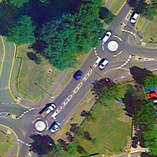 Icknield Way via Norton Way Roundabout