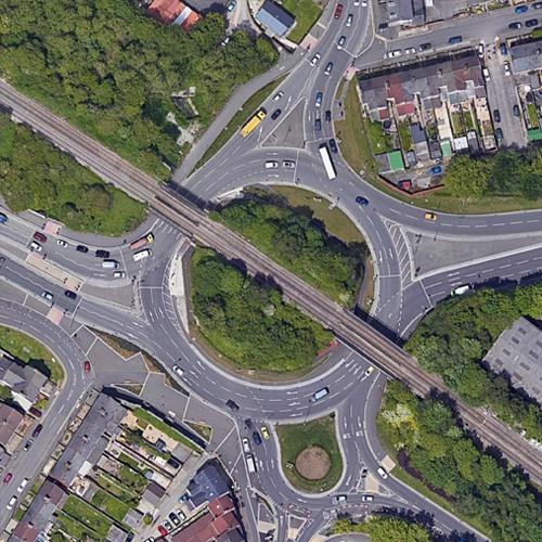 Bruce Street Bridges Roundabout