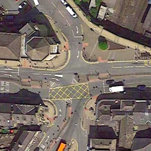 Trinity Street via Westgate Junction