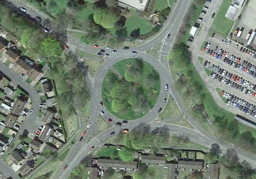 Bishop Meadow Roundabout