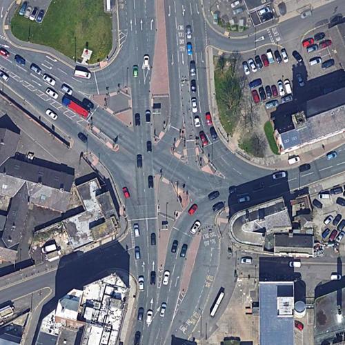 A1018 via A1290 Junction