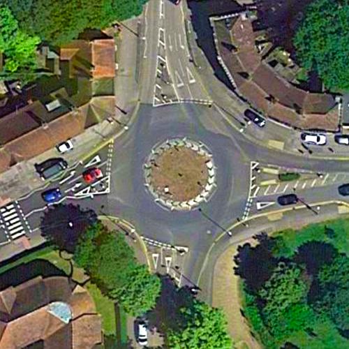 Norton Way North Roundabout