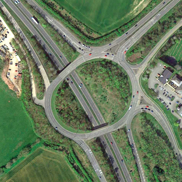 Rothwell Road Roundabout via A14