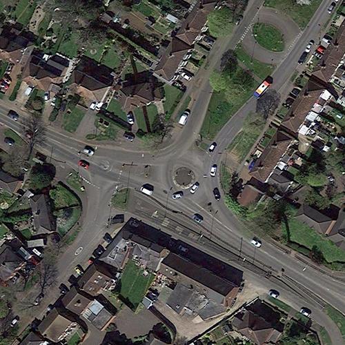 Warwick Road Roundabout
