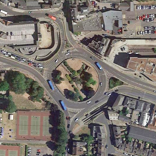 St Botolphs Circus Roundabout