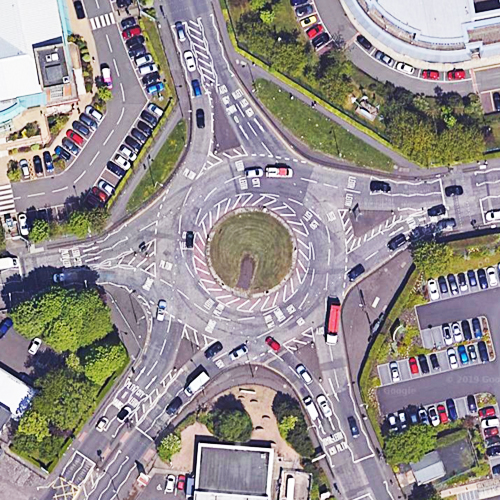 Crewe Road Roundabout