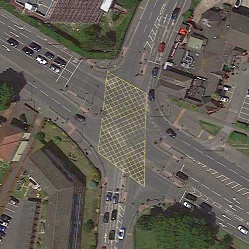 London Road via B470