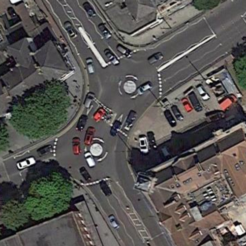 Shenfield Road Roundabout