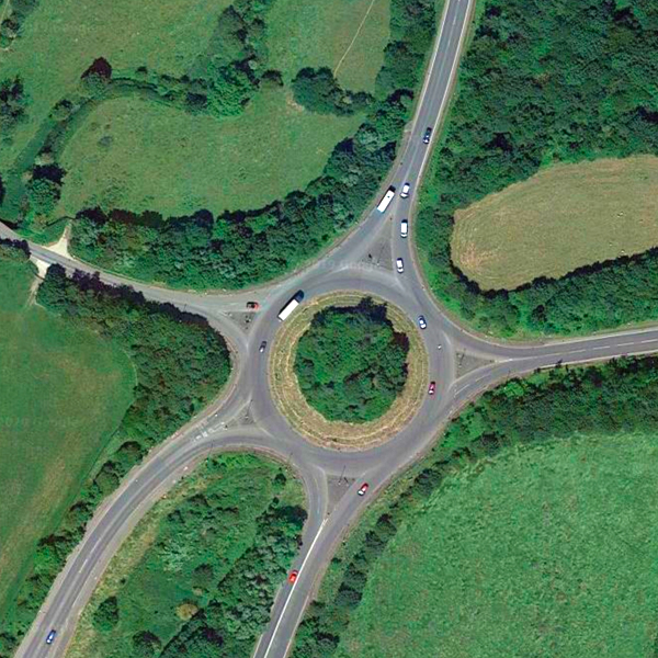 Harborough Road Roundabout