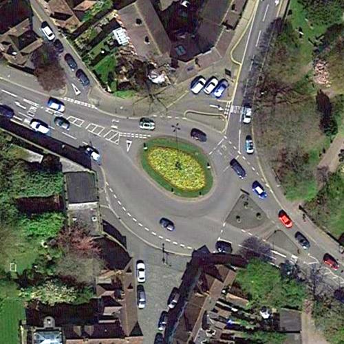 St Nicholas Church Street Roundabout