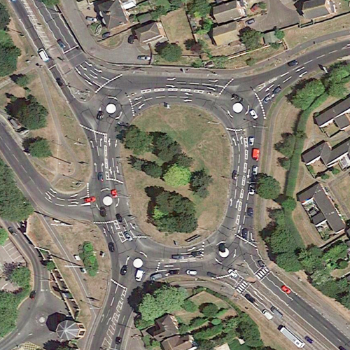 Greenstead Roundabout