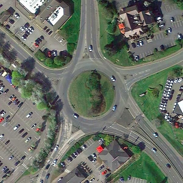 A509 Roundabout via Orion Way