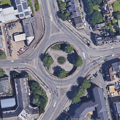 Newmarket Road Roundabout