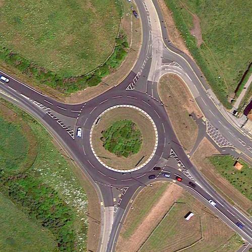 Cayton Bay Roundabout