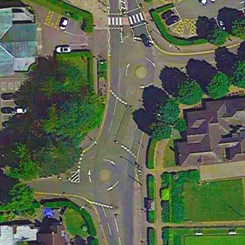 Norton Way South Roundabout