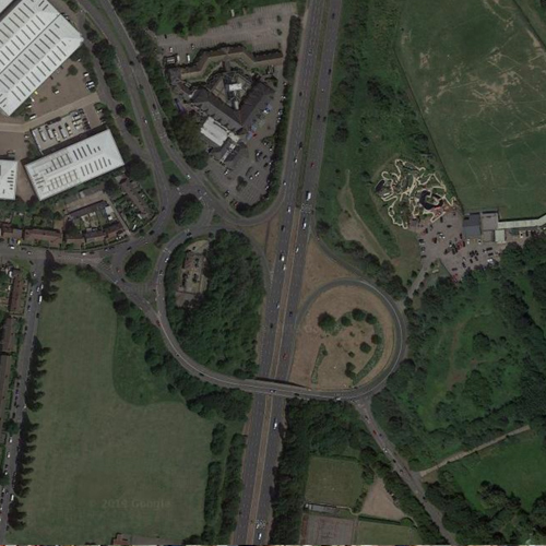 Barnet By-Pass Roundabout